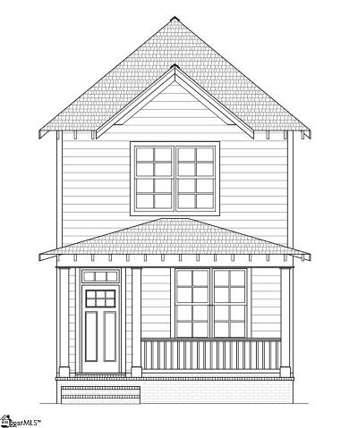 Easley Single Family Home For Sale: W D #Lot 18