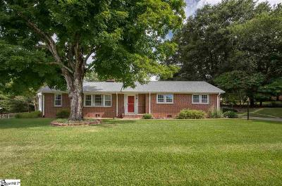Greenville Single Family Home For Sale: 15 Astor