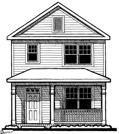 Easley Single Family Home For Sale: N 5th #Lot 17