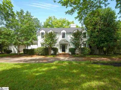 Greenville Single Family Home For Sale: 10 Rutledge Lake