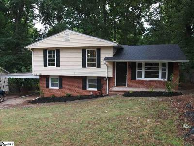 Greenville Single Family Home For Sale: 104 Cashmere