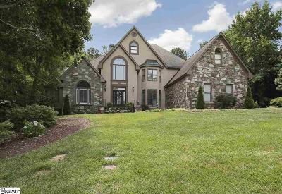 Simpsonville Single Family Home For Sale: 102 Turner Forest