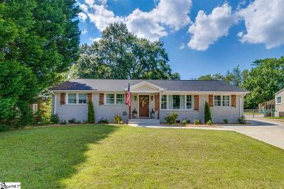 Greenville Single Family Home For Sale: 326 Parkins Mill
