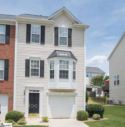 Simpsonville Condo/Townhouse For Sale: 36 Heritage Oak