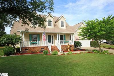 Simpsonville Single Family Home For Sale: 101 Arbordale