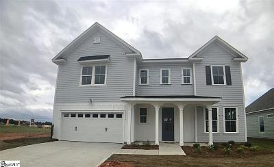 Simpsonville Single Family Home For Sale: 605 Torridon #Lot 3