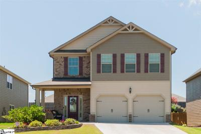 Simpsonville Single Family Home For Sale: 132 Border
