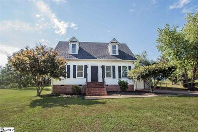 Easley Single Family Home For Sale: 599 Sheriff Mill
