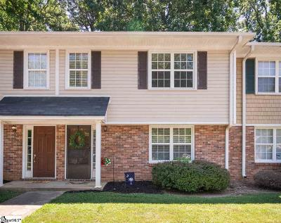 Simpsonville Condo/Townhouse For Sale: 3 E Ruby Bay