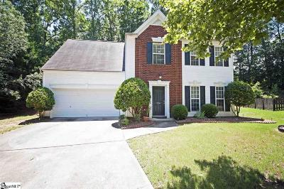 Greenville Single Family Home For Sale: 326 Whixley