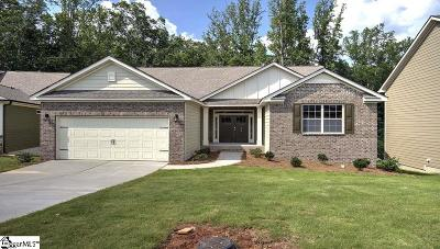 Simpsonville Single Family Home For Sale: 408 Woodland Oaks