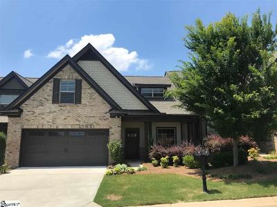Greenville County Condo/Townhouse For Sale: 107 Meadow Clary