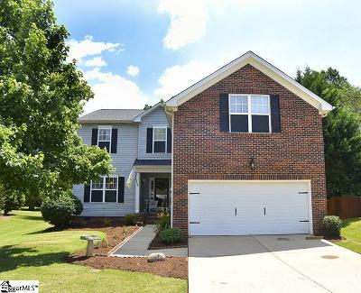 Boiling Springs Single Family Home Contingency Contract: 832 Thornbird