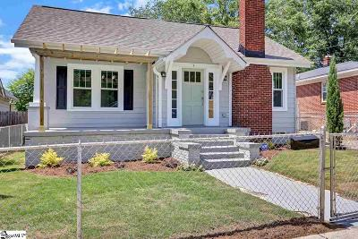 Greenville County Single Family Home For Sale: 5 Briggs