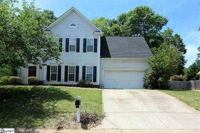 Simpsonville Single Family Home For Sale: 8 Renforth