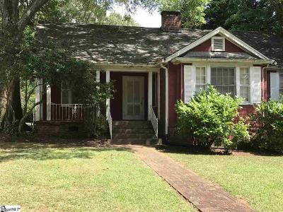 Augusta Road Single Family Home For Sale: 117 Sevier