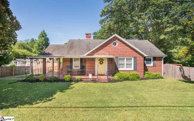 Travelers Rest Single Family Home For Sale: 1513 Geer