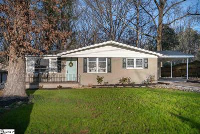 Greenville Single Family Home Contingency Contract: 303 Scarlett