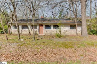 Travelers Rest Single Family Home For Sale: 2333 N Highway 25