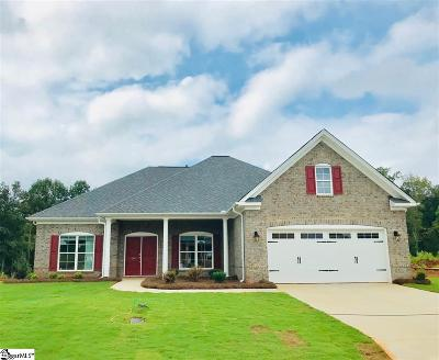 Easley Single Family Home For Sale: 244 Crestgate
