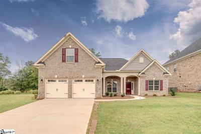 Easley Single Family Home For Sale: 204 Crestgate