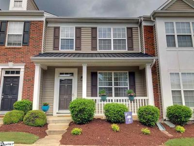 Greenville County Condo/Townhouse For Sale: 303 Intrepid