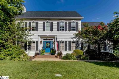 Greenville County Single Family Home Contingency Contract: 107 Beckenham