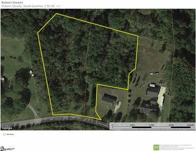 Easley Residential Lots & Land For Sale: Rampey