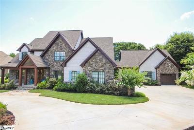 Greer Single Family Home For Sale: 2 Fox Hunt