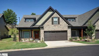 Greenville County Condo/Townhouse For Sale: 338 Scotch Rose