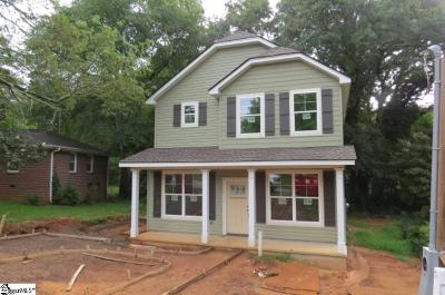 Greenville County Single Family Home For Sale: 19 Tuskegee