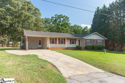 Greenville County Single Family Home For Sale: 312 Maple
