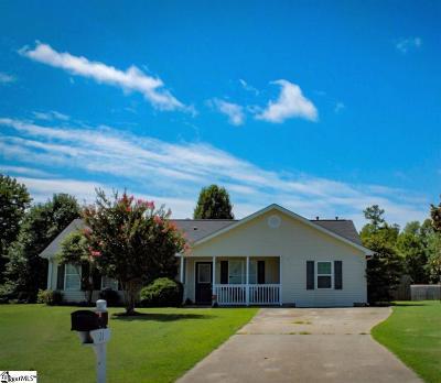 Fountain Inn Single Family Home Contingency Contract: 21 Spring Vista