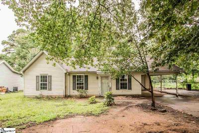 Anderson Single Family Home For Sale: 3308 Deerwood