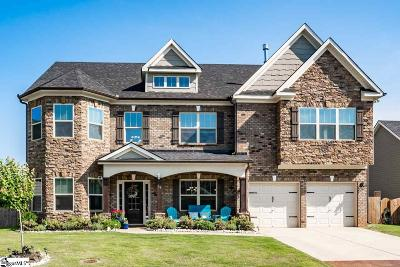 Simpsonville Single Family Home For Sale: 14 Foxmoor