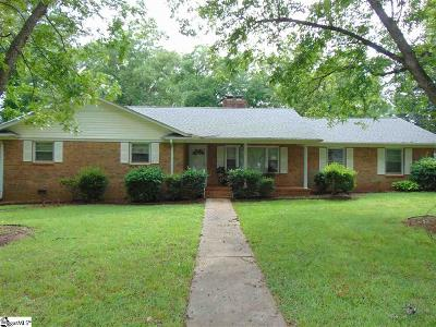 Greenville County Single Family Home For Sale: 908 Poplar