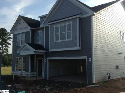 Greer Single Family Home For Sale: 400 Marietta #Lot 50