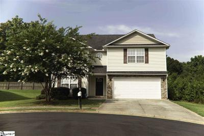Greenville County Single Family Home For Sale: 209 Hawthorne Creek