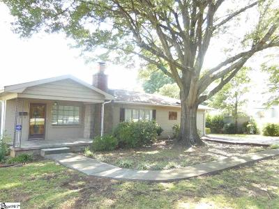 Spartanburg Single Family Home For Sale: 755 California