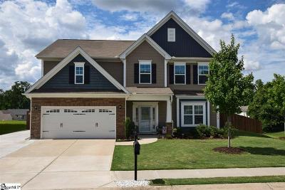 Simpsonville Single Family Home For Sale: 319 Gibby