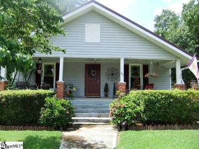 Woodruff Single Family Home For Sale: 807 Buncombe Street