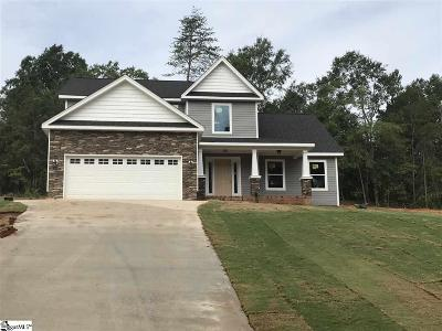 Spartanburg Single Family Home For Sale: 347 Sorley