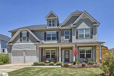 Simpsonville Single Family Home For Sale: 7 Wadmalaw