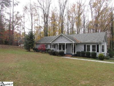 Greenville County Single Family Home For Sale: 208 Club