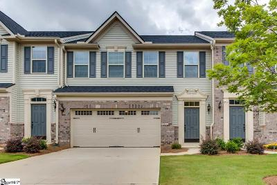 Greenville County Condo/Townhouse For Sale: 307 Corday