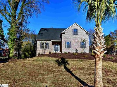 Greenville County Single Family Home For Sale: 125 Scalybark