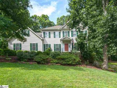 Simpsonville Single Family Home For Sale: 154 Circle Slope