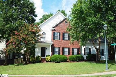 Greenville Single Family Home For Sale: 2 Misty Meadow