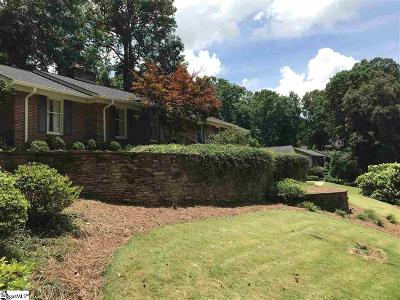 Greenville County Single Family Home For Sale: 14 Harbor Oaks