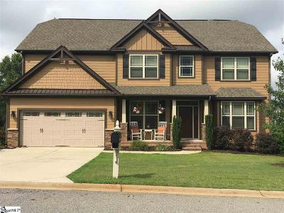 Greer Single Family Home Contingency Contract: 113 Castle Creek